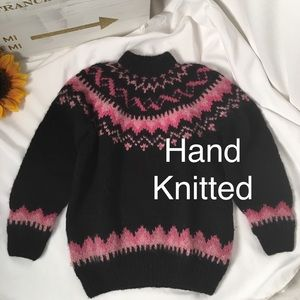 Ski Sweater Hand-knitted